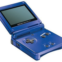 Cobalt Gameboy Advance SP - GameBoy Advance (Pre-owned)