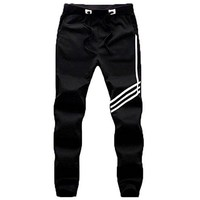 PFlex Mens Soccer Training, Gym, Running Pants - Joggers Tapered Fit