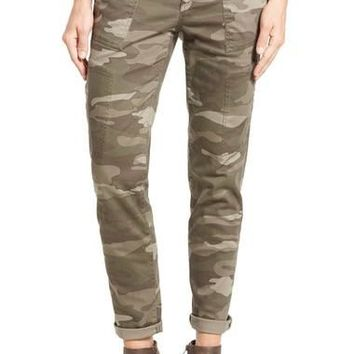 Skinny Cargo Pants (Regular & Petite) (Nordstrom Exclusive)