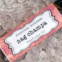 NAG CHAMPA Perfume Oil - Indian Incense Earthy Spicy Hippie Type Unisex Cologne Oil