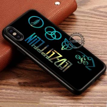 Nebula Symbol Led Zeppelin iPhone X 8 7 Plus 6s Cases Samsung Galaxy S8 Plus S7 edge NOTE 8 Covers #iphoneX #SamsungS8