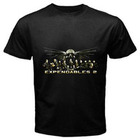 the expendables 2 New Tshirt size S,M, L ,XL, 2XL, 3XL, 4XL and 5XL