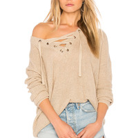 BB Dakota Jack by BB Dakota Willard Sweater in Medium Khaki | REVOLVE