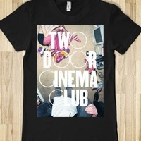 Two Door Cinema Club-Female Black T-Shirt