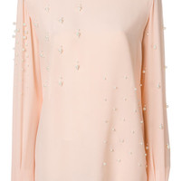 Stella McCartney pearl-embellished Blouse - Farfetch