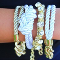 So Knaughty Arm Candy Bracelet Set - Modern Vintage Boutique