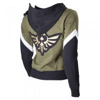 LEGEND OF ZELDA LADIES HOODIE