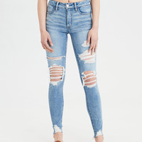 High-Waisted Jegging, Ice Woman