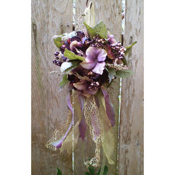Faerie sphere floral arrangement wedding decor