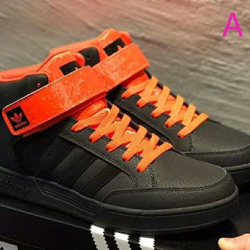Adidas Varial Mid high-top shoes!