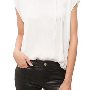 Velvet - Syara Round Neck Top