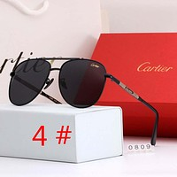 Cartier New Fashion Polarized Women Men Business Casual Sunscreen Glasses Eyeglasses