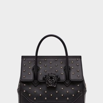 Versace City Stud Palazzo Empire Bag for Women | US Online Store