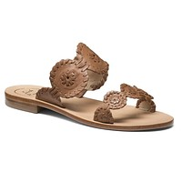 Lauren Sandal in Cognac by Jack Rogers - FINAL SALE