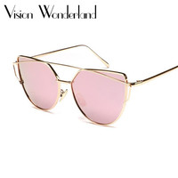 Cat Eye Polarized Sunglasses For Women Spectacles  Metal Frame Driving Sun Glasses Gafas De sol Ladies Outdoor Eyewear