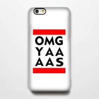 OMG YAAAS Quotes iPhone 6 Case/Plus/5S/5C/5/4S Protective Case #258