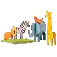 Petit Collage Safari Pop-out and Play