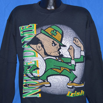 90s Notre Dame Fightin' Irish Sweatshirt Large
