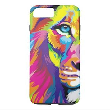 Colorful Lion Case-Mate Tough iPhone 7 Plus Case