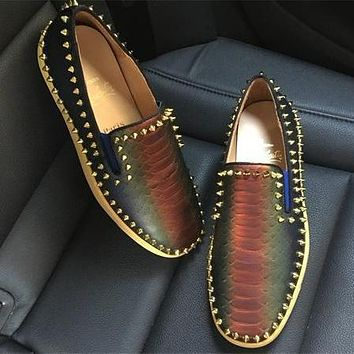 Cl Christian Louboutin Flat Style #771