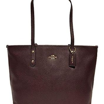 Coach City Crossgrain Leather Tote COACH bag