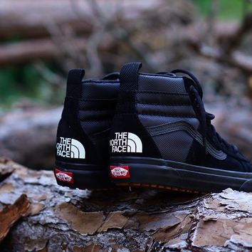 spbest The North Face X Vans Sk8 Hi MTE DX  Black