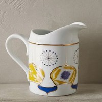 Forbury Creamer by Anthropologie in Turquoise Size: Creamer Serveware