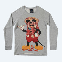 Facemelter Sweater (Grey)