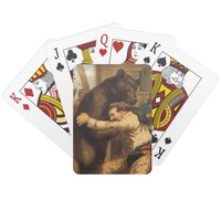 TEE Wild West Wrestling Playing Cards
