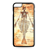 Mermaid Skeleton iPhone 6 Plus case