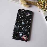 Cosmic planet iPhone 7 7 plus iPhone 5 5s SE 6 6s 6 Plus 6s Plus Case + Nice gift box 71501