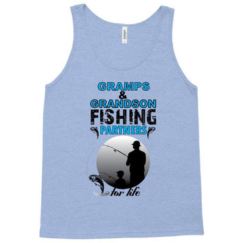 Gramps & Grandson Fishing Partners For Life Tank Top