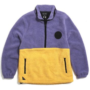 Out Of Bounds Storm Fleece Jacket Purple