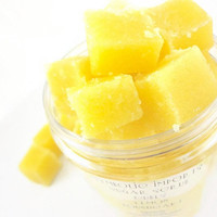 Lemon Poundcake - Sugar Scrub Cubes - 4 oz. Jar