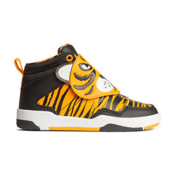 High Tops with Printed Design - from H&M