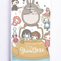 iPhone 5S Case - Rubber TPU Cover with Studio Ghibli Rubber Case Design