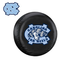 North Carolina Tar Heels NCAA Spare Tire Cover and Grille Logo Set (Regular)