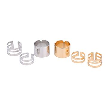 Round Finger Ring Set