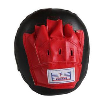 Synthetic Leather Round Hollow Hand Target Free Combat Boxing