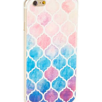 Tahitian Abstract Hard Case for iPhone 7 Plus