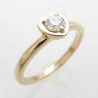 Pink gold ring CARTIER Pink