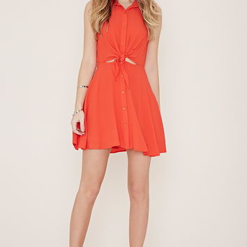 Gathered-Side Bodycon Dress | Forever 21 - 2000152497