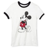 Mickey Mouse Graphic Tee Ivory