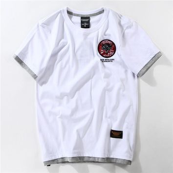 Casual Summer Short Sleeve T-shirts Fashion Bottoming Shirt [10713509763]