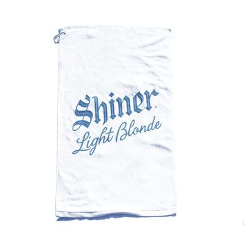 Light Blonde Golf Towel