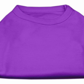 Plain Shirts Purple Sm (10)