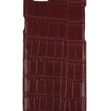IPhone 6S / 6  Case Alligator Bordeaux