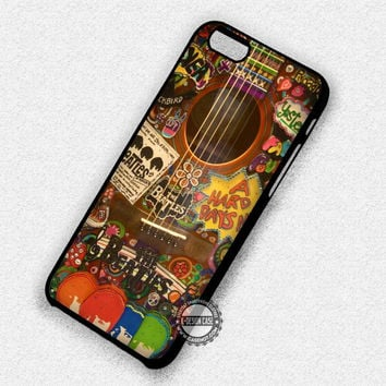 Hippie Guitar - iPhone 7 6 Plus 5c 5s SE Cases & Covers