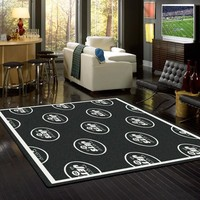 New York Jets NFL Team Repeat Rug