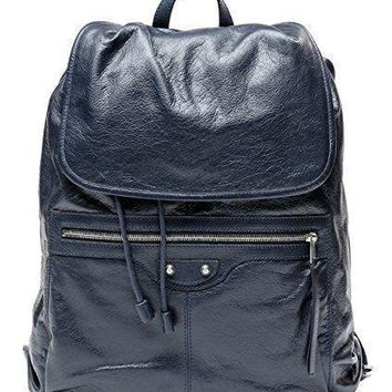 wiberlux balenciaga men s classic traveler s real leather backpack 3